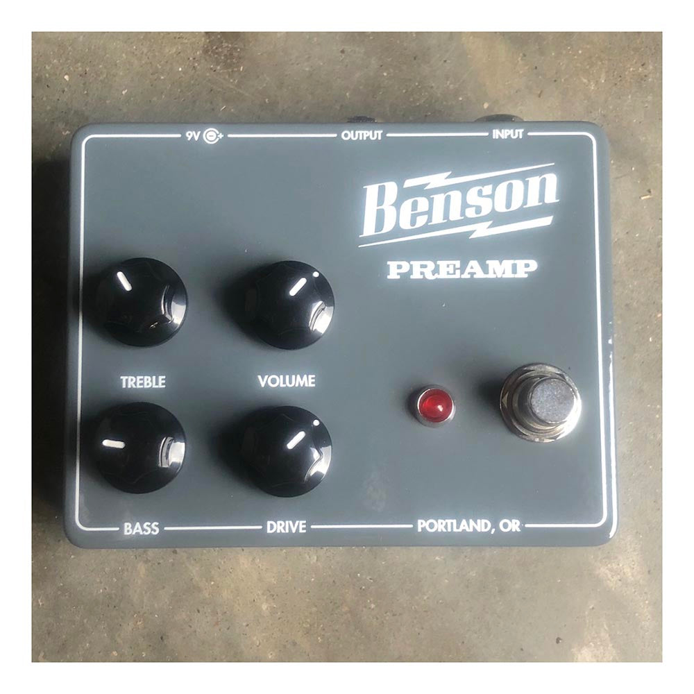 Benson Preamp Pedal Used