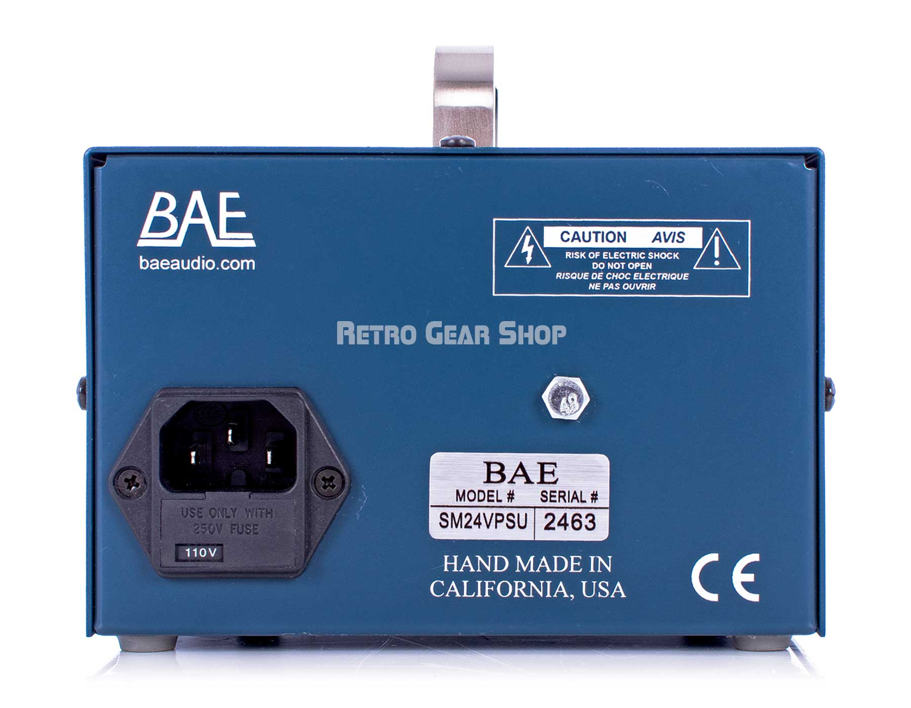 BAE 1023 Power Supply Rear