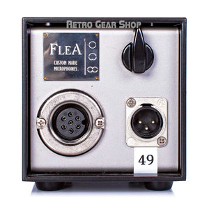 FLEA Microphones 49 Power Supply Rear Front