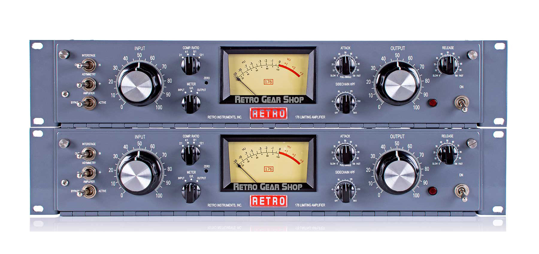 Retro Instruments 176 Limiting Amplifier Tube Compressor Matched Sequential Stereo Pair