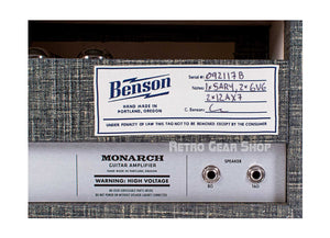 Benson Amps Monarch + 1x12 Cab Night Moves