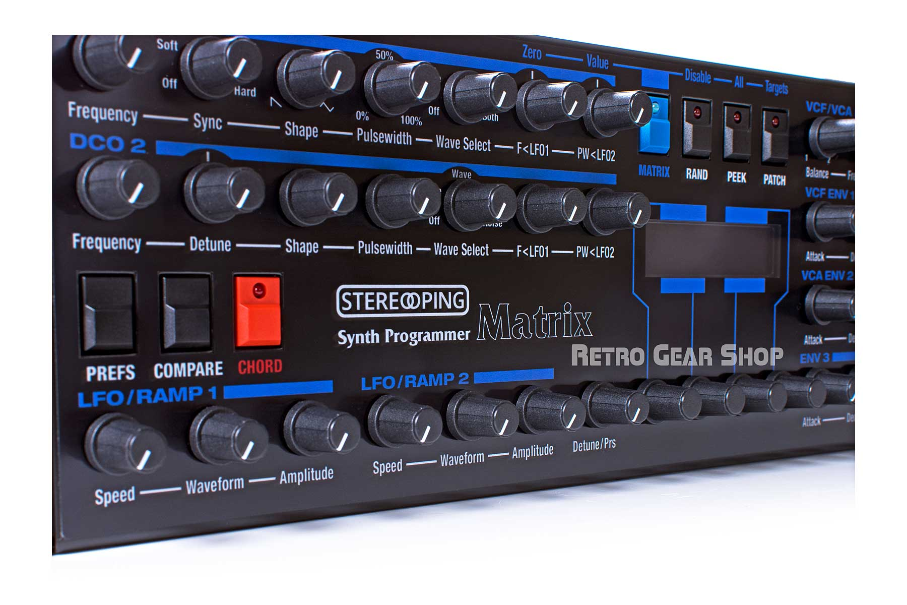 Stereoping Programmer Oberheim Matrix Knobs