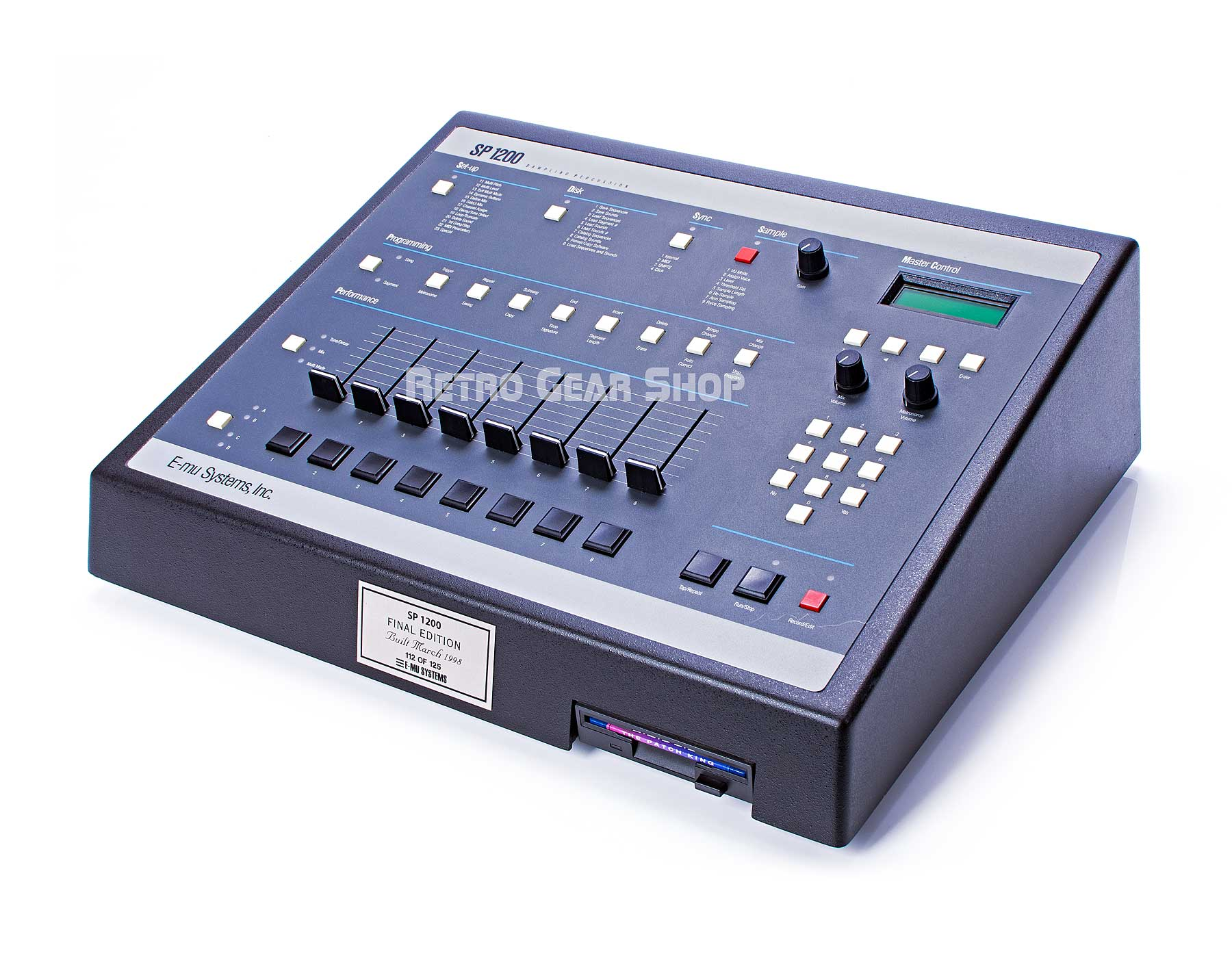 E-Mu SP-1200 Final Edition #112 Sampler