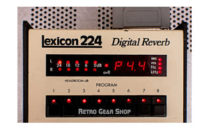 Lexicon 224 + Larc  Display On