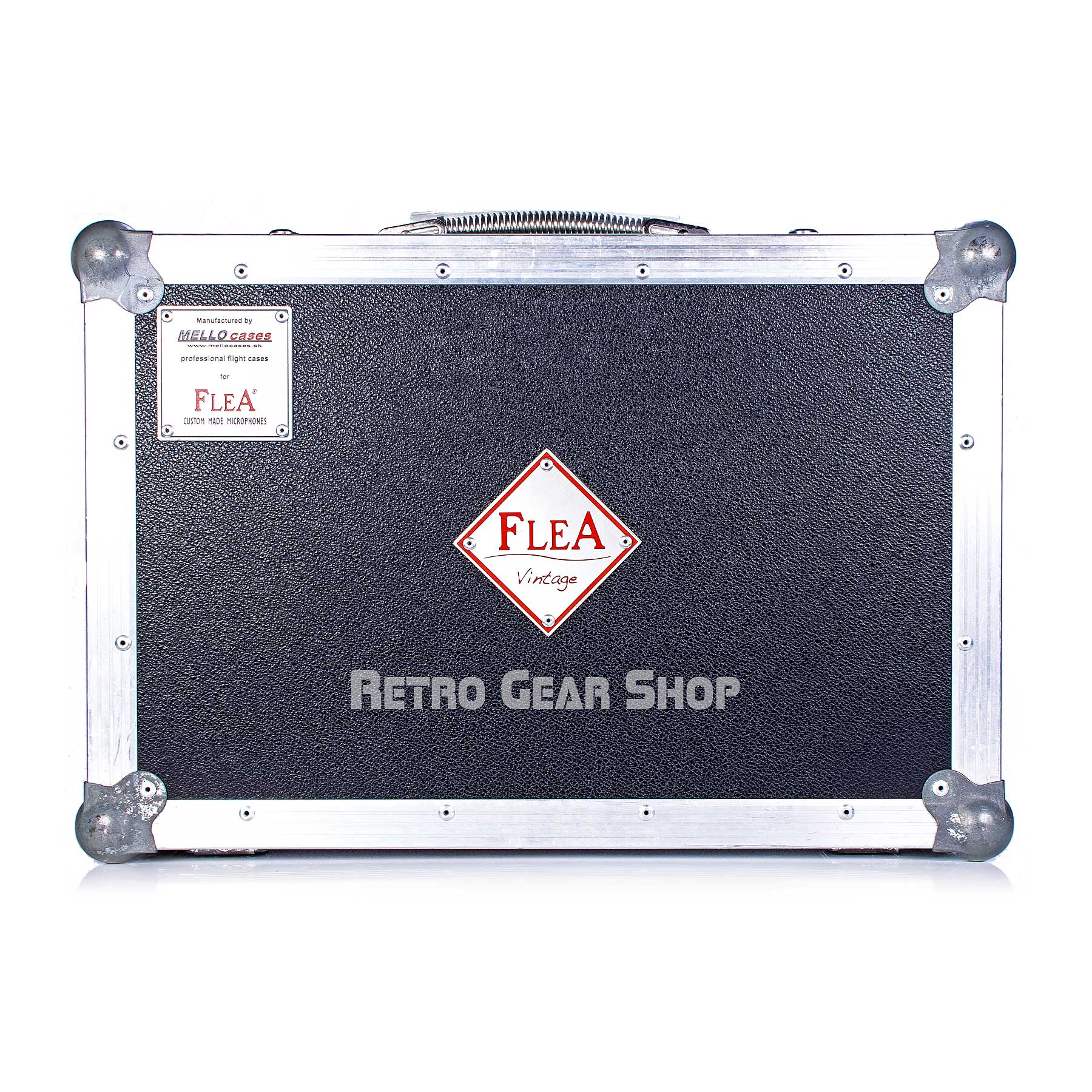 FLEA Microphones 49 Custom Flight Case