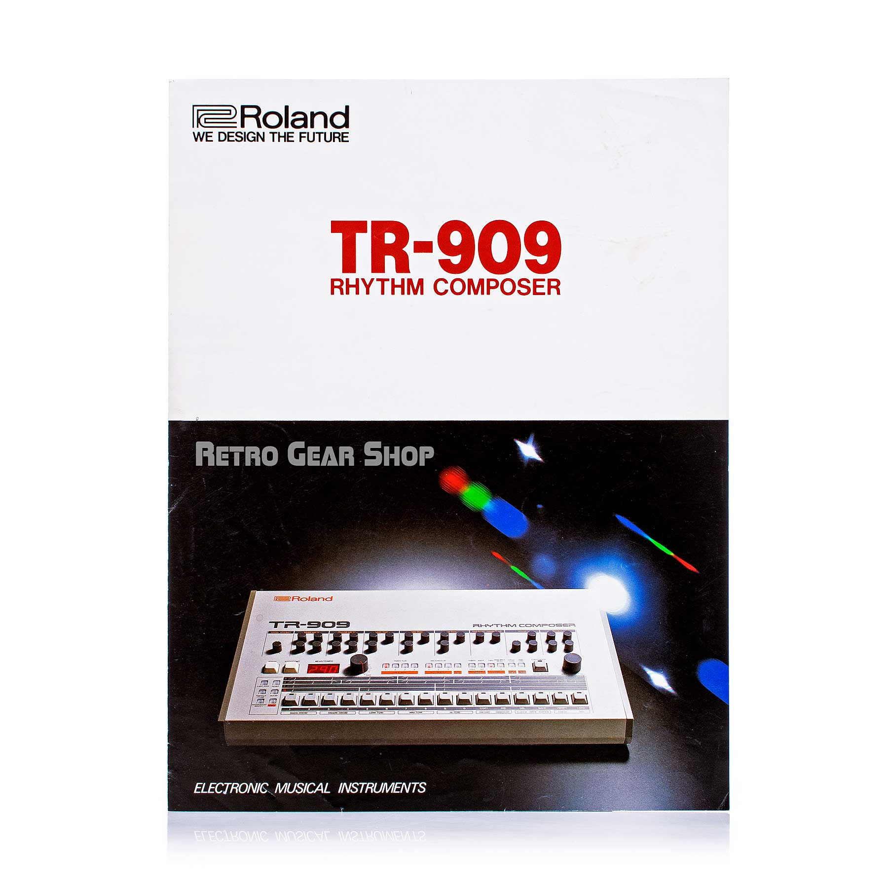 Roland TR-909 Brochure Advertisement Front