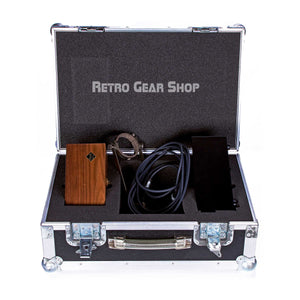 FLEA Microphones 49 Custom Flight Case Open