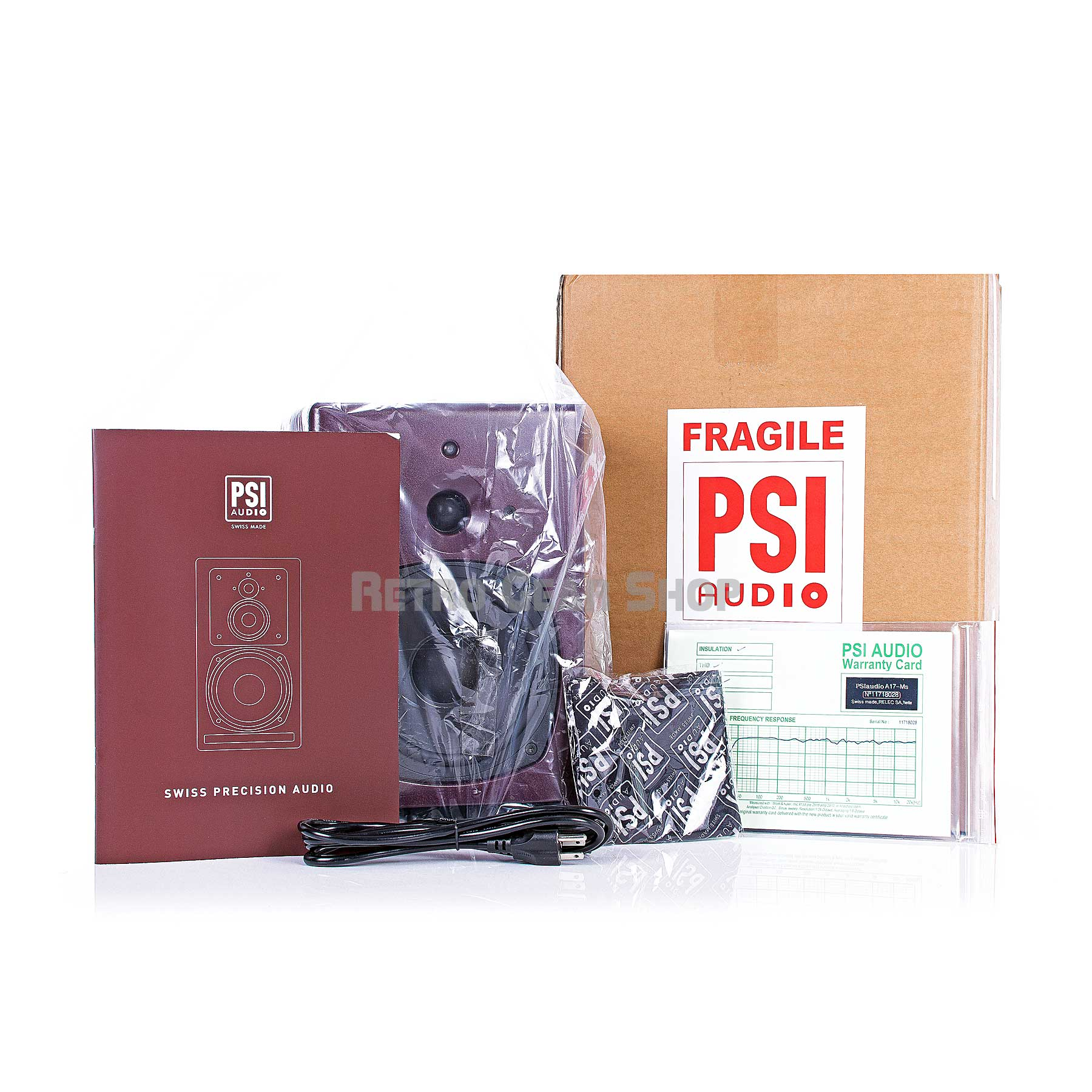PSI Audio A17-M Contents Extras