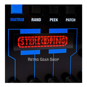 Stereoping Programmer Oberheim Matrix Screen