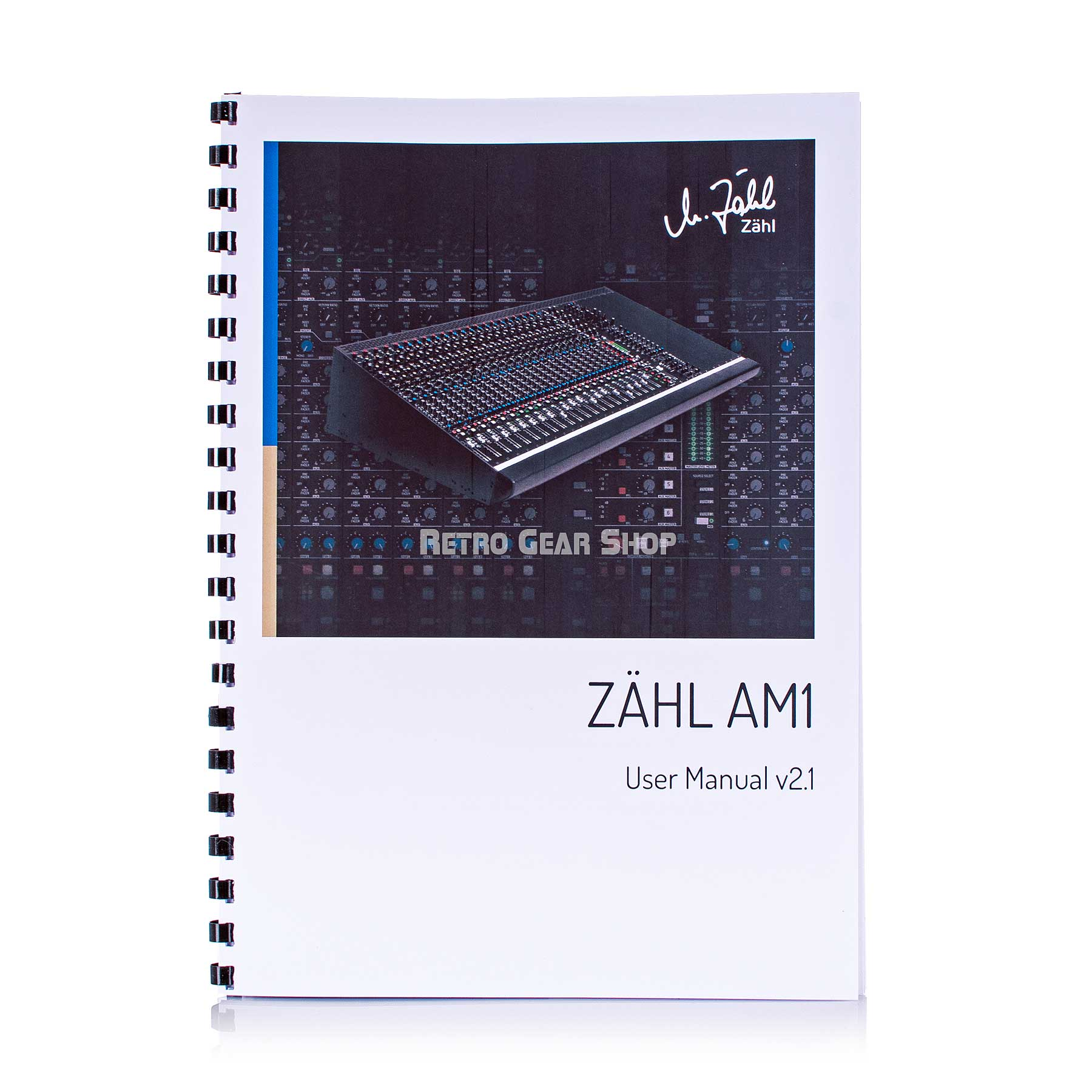 Zahl AM1 Mixing Recording Console Power Supply Manual
