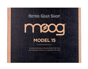 Moog Model 15 Reissue Original Box