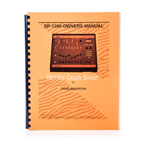 E-Mu SP-1200 Final Edition #112 Owern's Manual