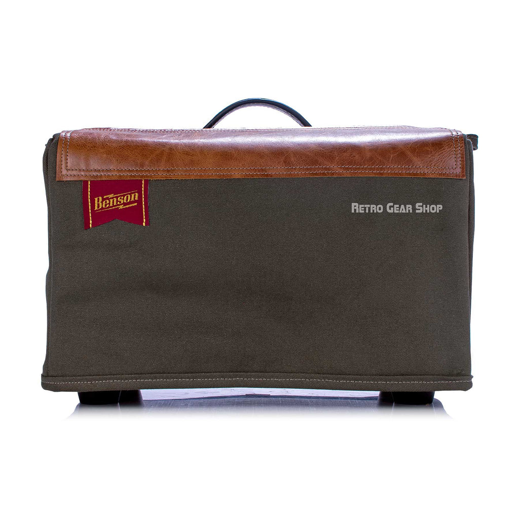 Benson Amps Cully Craft Cover Handmade Leather Canvas