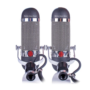 AEA R84 Ribbon Microphone Stereo Matched Pair Rear