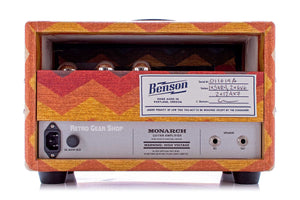 Benson Amps Monarch Head 15W Old Mexico Rear
