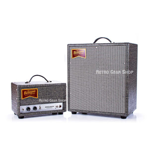 Benson Amps Monarch Head & 1x12 Cab Night Moves Silver Grill