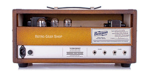 Benson Amps Vincent 30 Watt Amp Head Bourbon Burst Rear