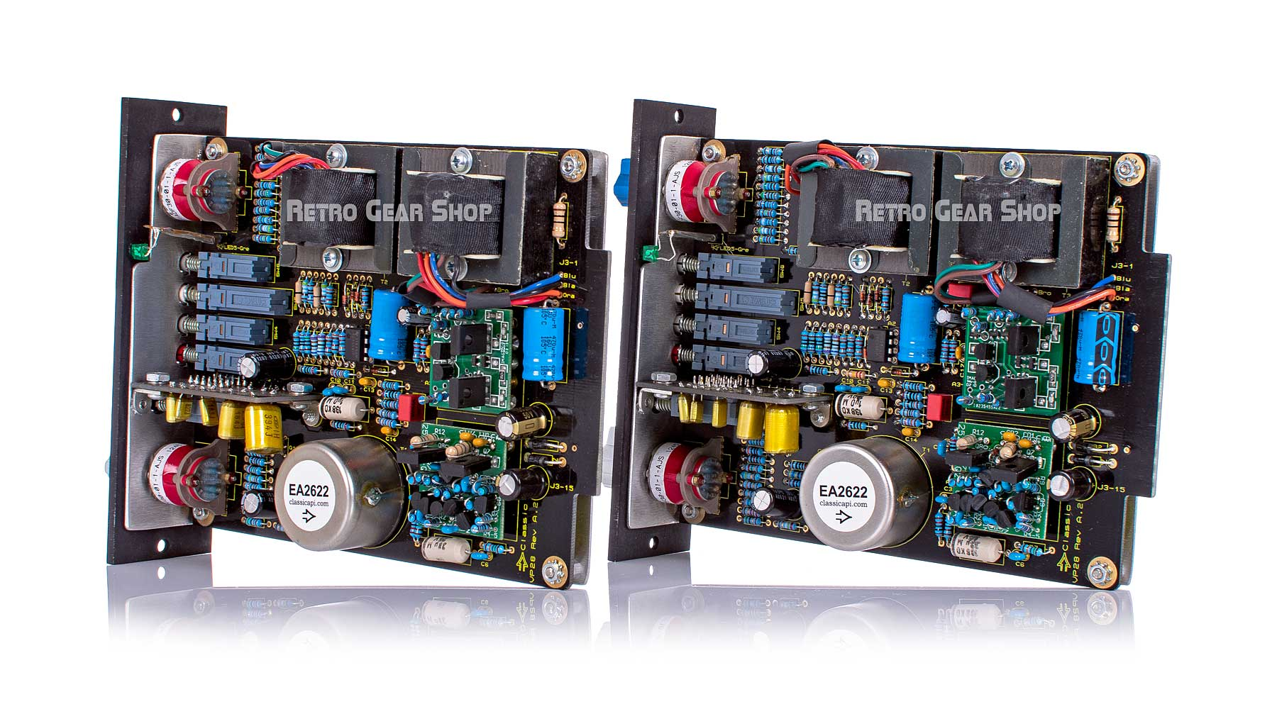 Capi VP28 Stereo Pair Preamp Right Rear