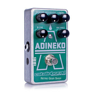 Catalinbread Adineko Oil Can Delay Reverb Echo Guitar Effect Pedal