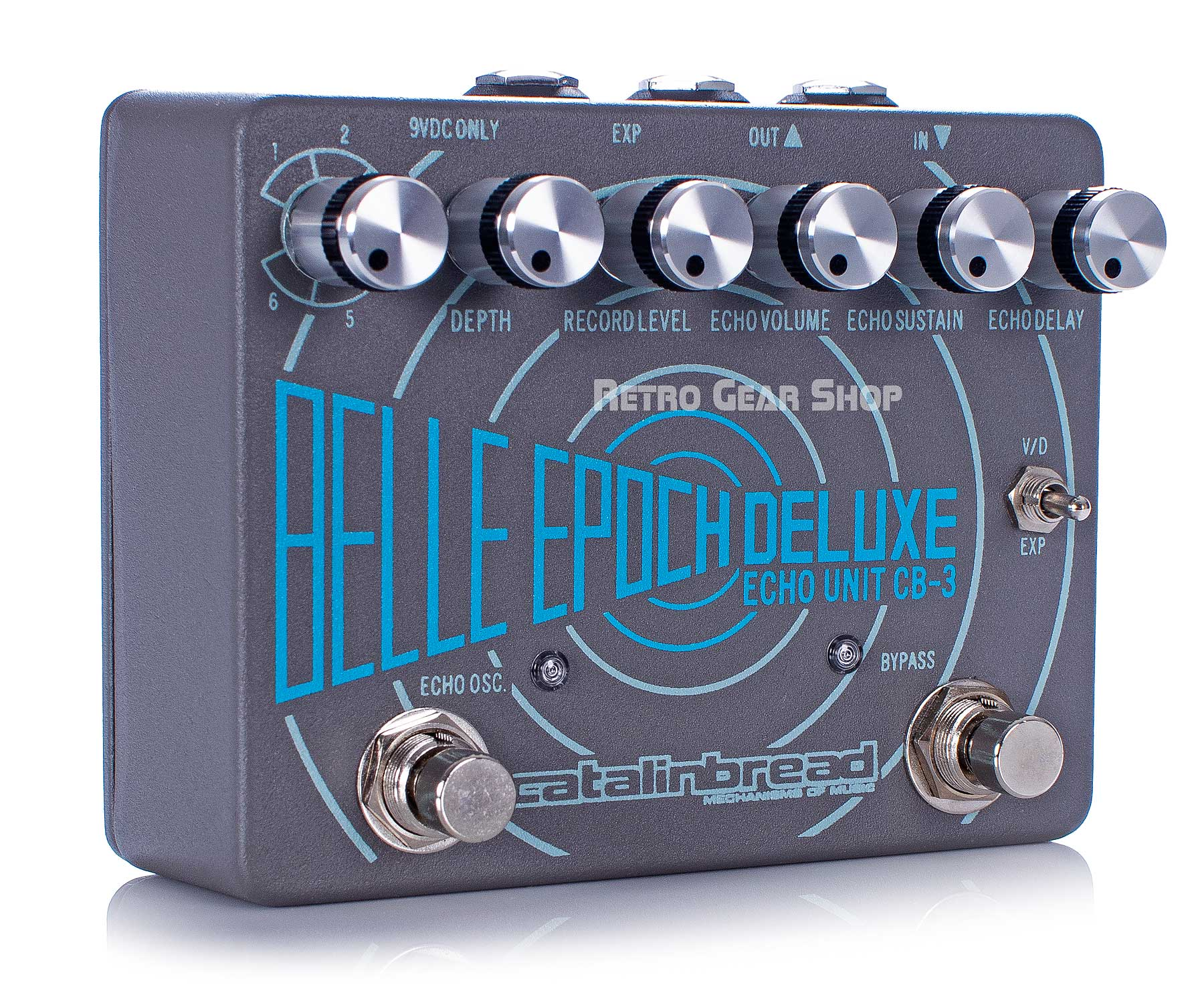 Catalinbread CB3 Belle Epoch Tape Echo Angle