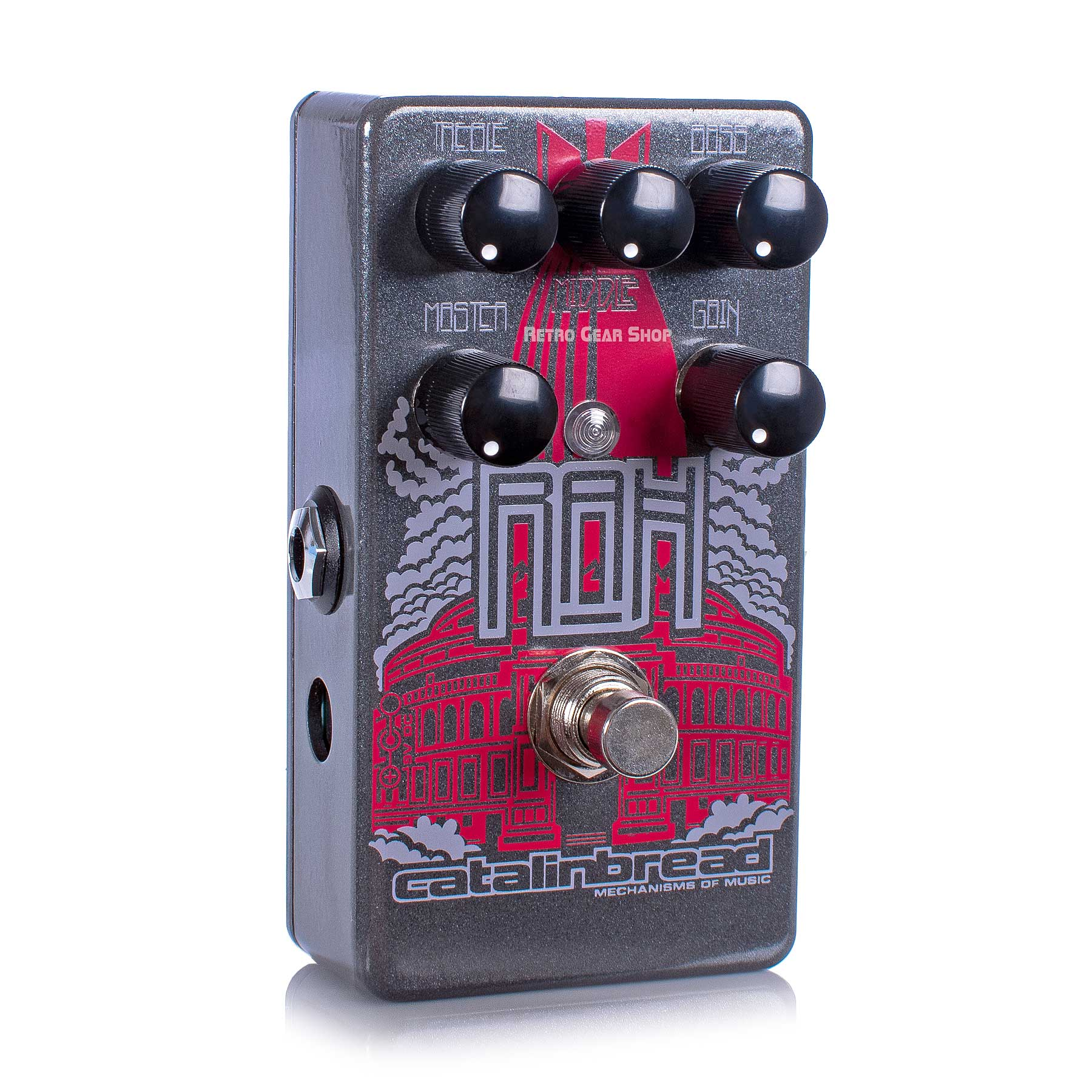 Catalinbread RAH Overdrive Distortion Guitar Effect Pedal