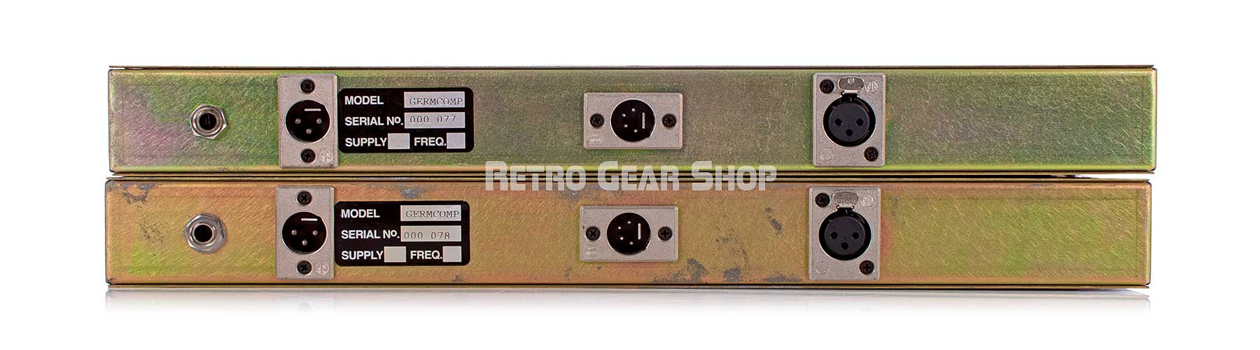 Chandler Limited Germanium Stereo Pair Rear