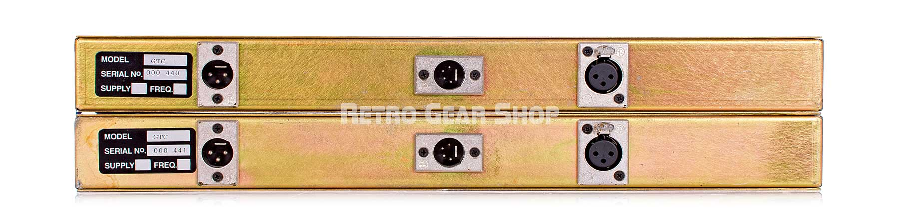 Chandler Limited Germanium Tone Control Pair Rear
