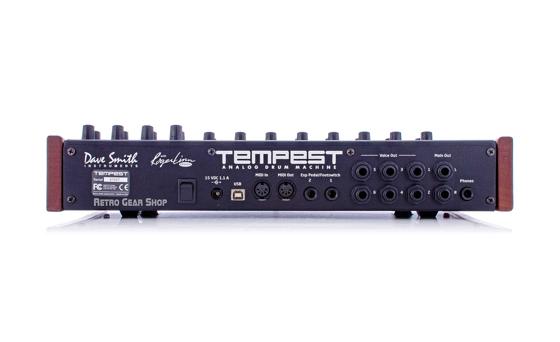 Dave Smith Instruments Tempest Rear