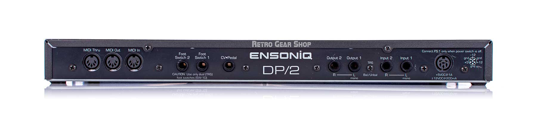 Ensoniq DP/2 Rear