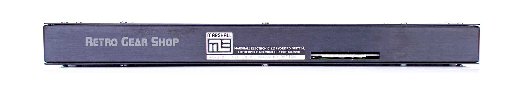 Marshall Electronics AR-300 Tape Eliminator Blue Rear