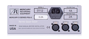 Mercury Recording Equipment 5.2A PSU-II Power Supply Rear