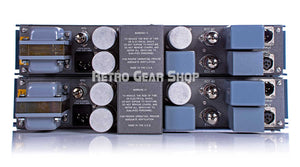 Pultec EQM-1S3 Mastering EQ Stereo Sequential Matched Pair Equalizer Rear