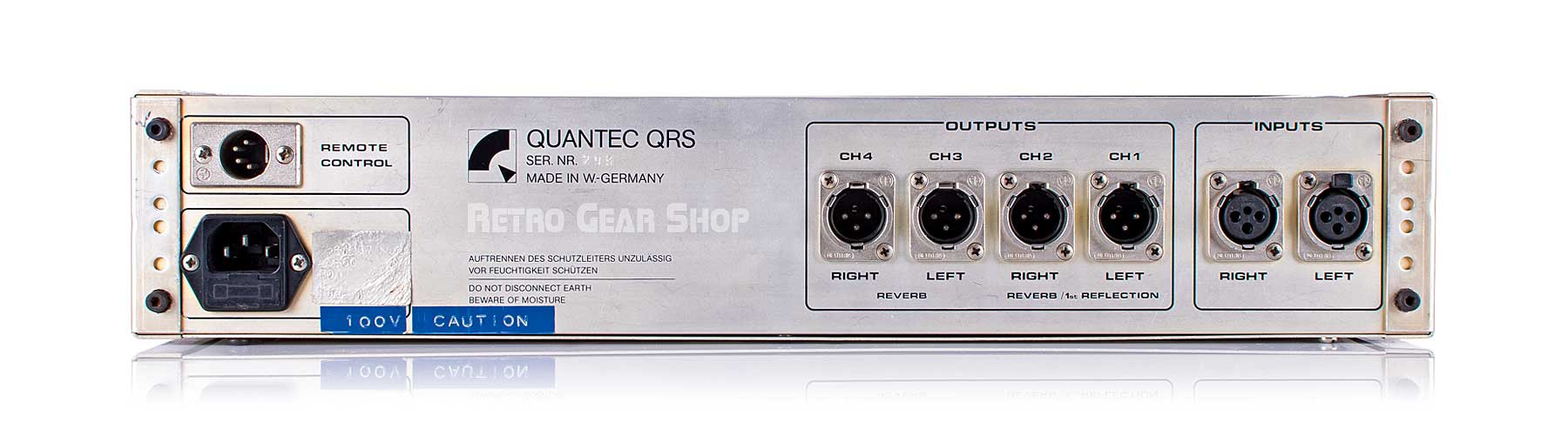 Quantec QRS Serviced Rear