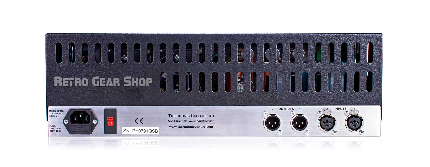 Thermionic Culture Phoenix SB Rear