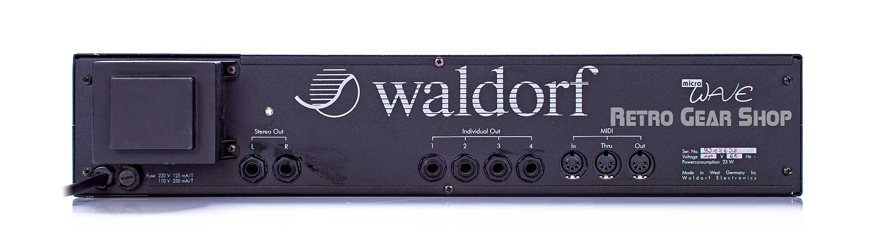 Waldorf Microwave 1 Rear
