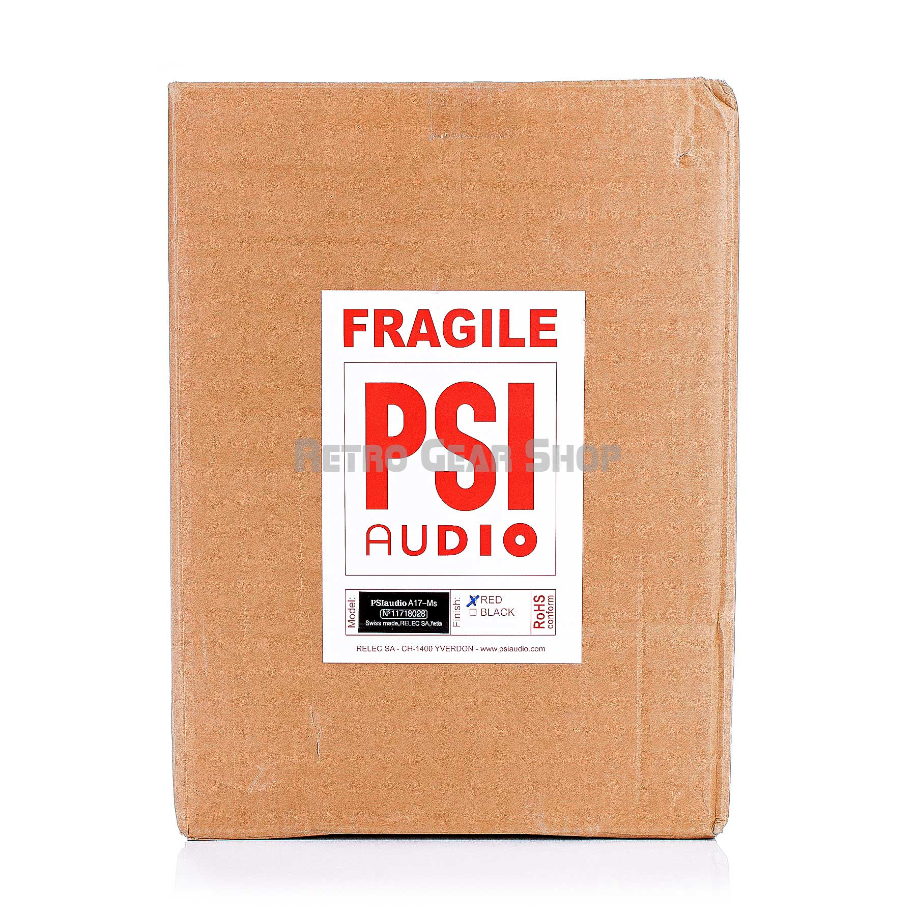 PSI Audio A17-M Shipping Box