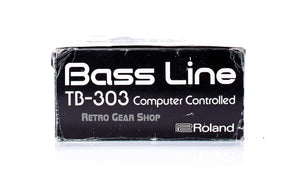 Roland TB-303 Original Box Left
