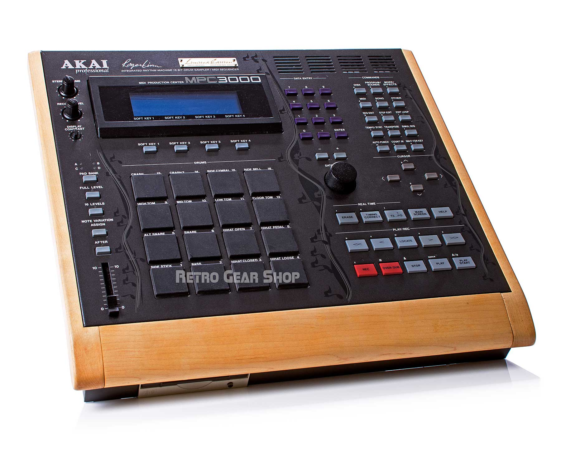 Akai MPC3000LE Custom Wood Drum Machine
