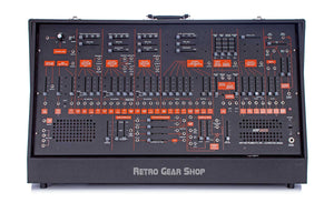 ARP 2600 + ARP 3620 Keyboard 2601 Black Orange Front