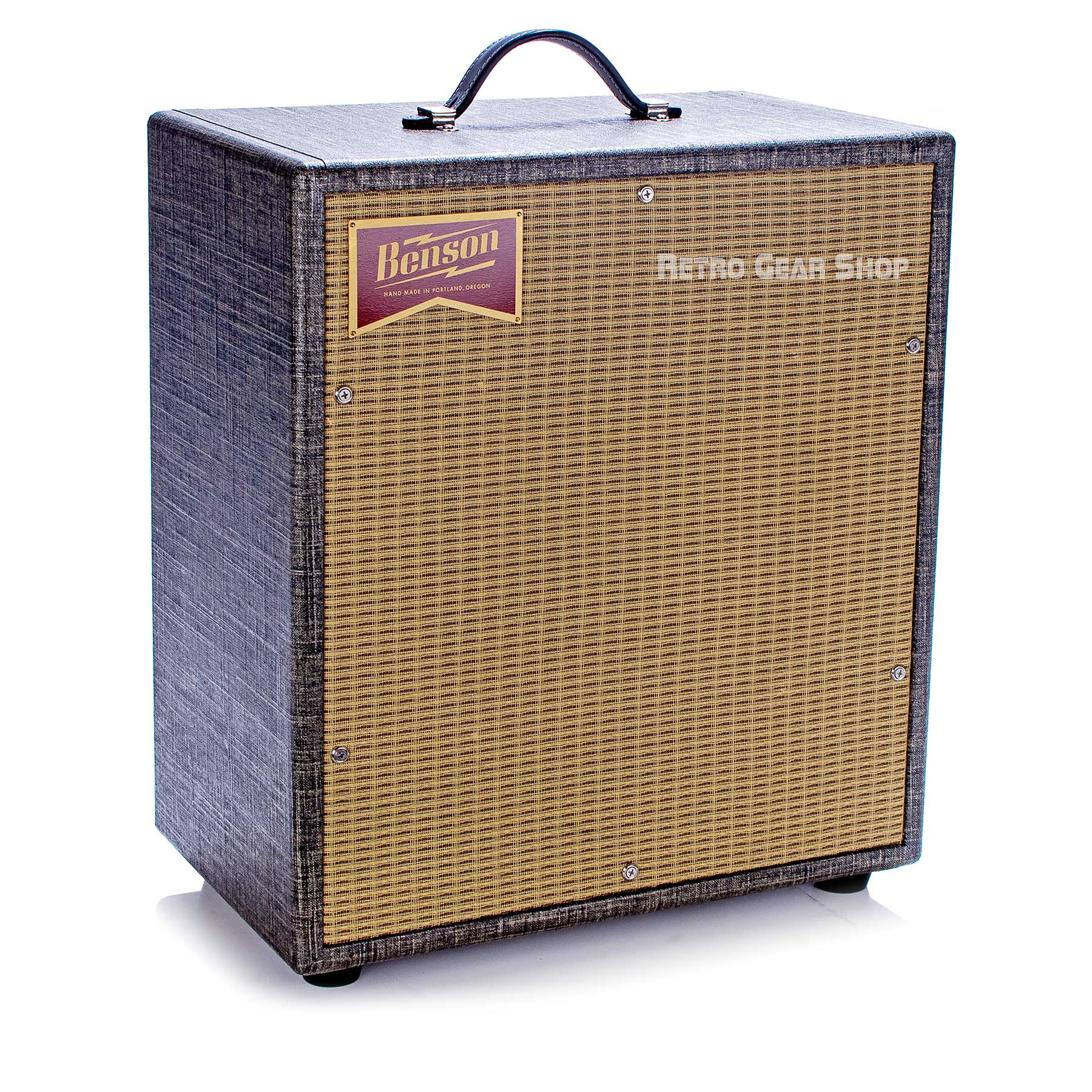 Benson Amps Monarch 1x12 Cab Night Moves Wheat Grill Top Left