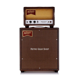 Benson Amps Monarch Head + 1x12 Cab Bourbon Burst Oxblood Grill