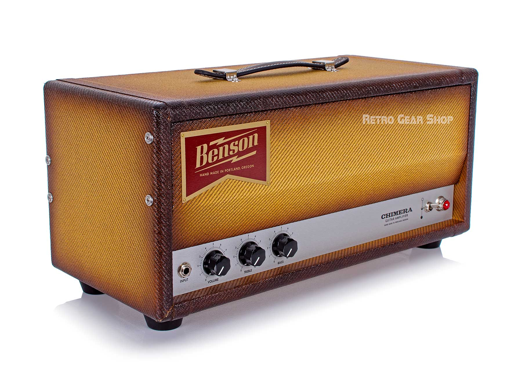 Benson Amps Chimera Bourbon Top Left