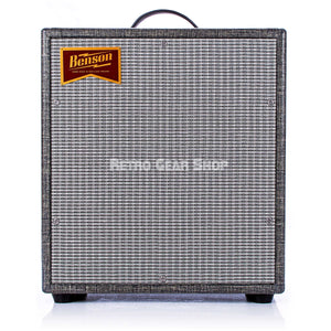 Benson Amps Monarch 1x12 Cab Night Moves Silver Grill Front