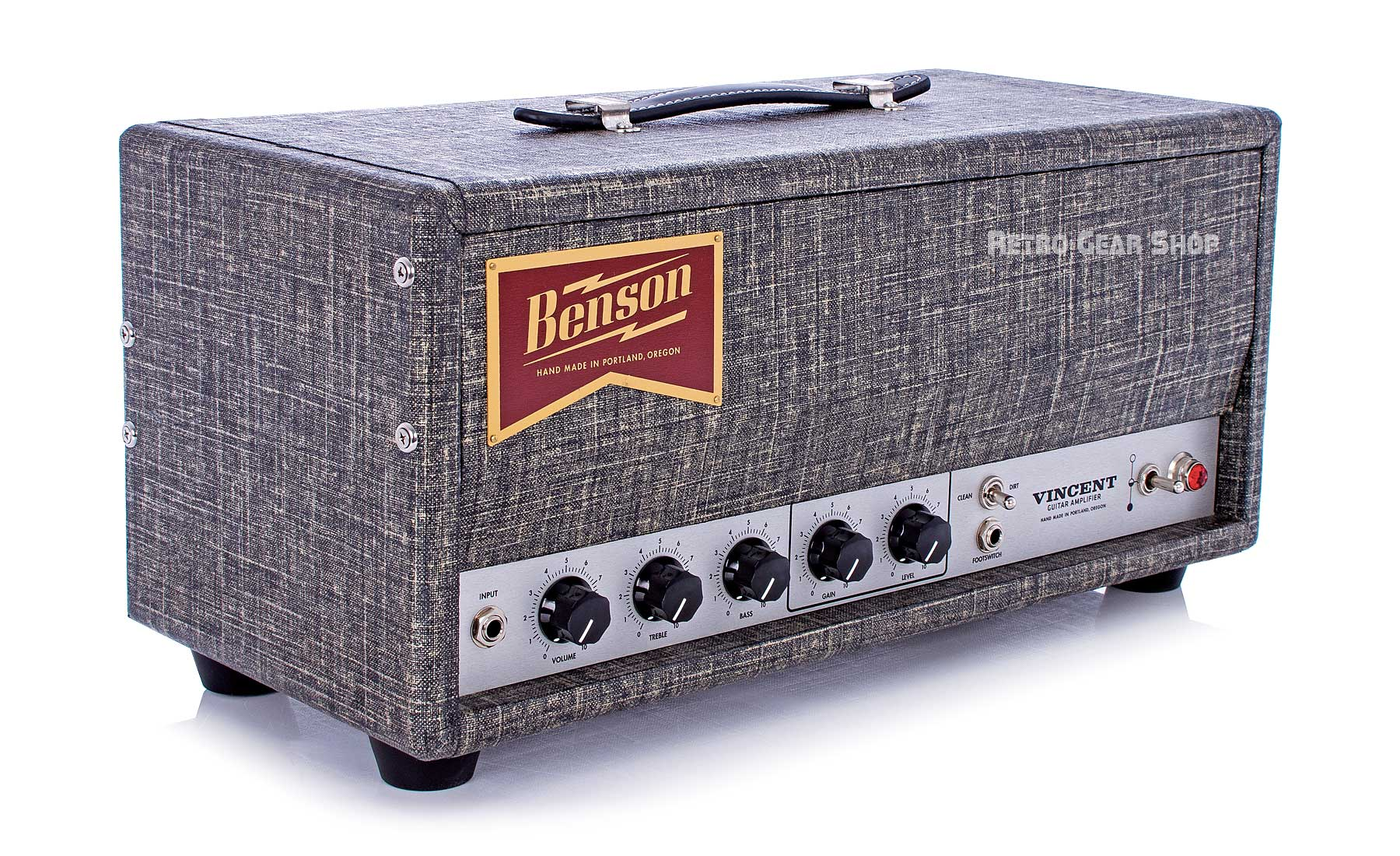 Benson Amps Vincent Head Night Moves Top Left