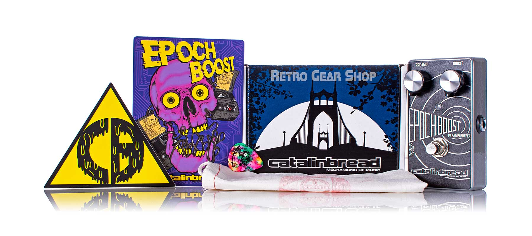 Catalinbread Epoch Boost Box Manual Extras