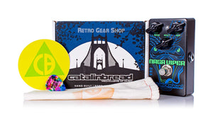 Catalinbread Naga Viper Treble Boost Box Manual Extras