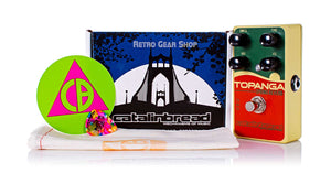 Catalinbread Topanga Spring Reverb Box Manual Extras