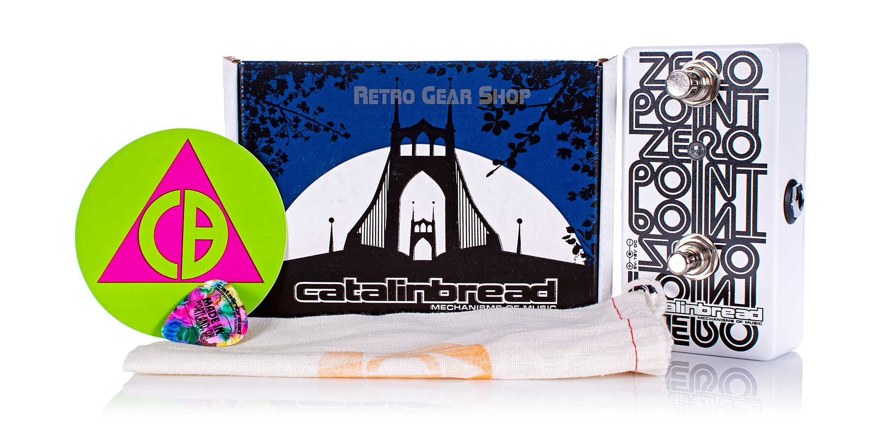 Catalinbread Zero Point Flanger Box Manual Extras