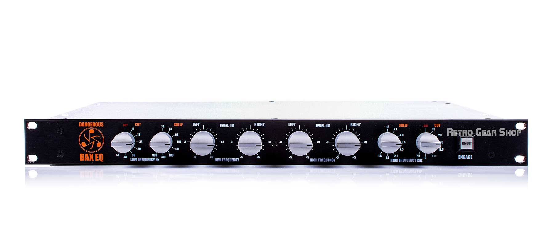 Dangerous Music BAX EQ Front