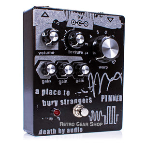 Death By Audio Pinned APTBS Limited Edition Fuzz Guitar Pedal